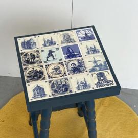 Delftsblauw tafeltje