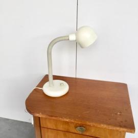 Vintage ecru bureaulamp
