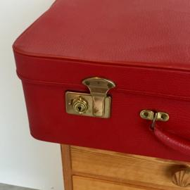 Rode koffer