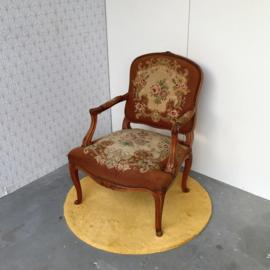 Brocante borduurstoel