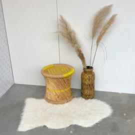 Boho bamboe kruk