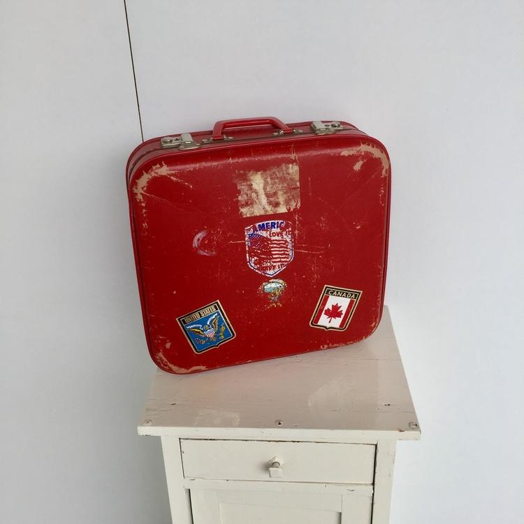 Jaren 70 koffertje