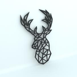 Deer Geometric Head