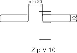 Hanger Zip V 10