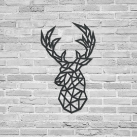Deer Geometric Head