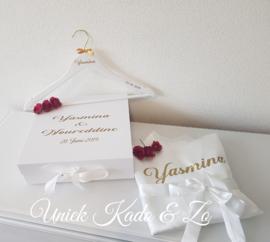 Kimono bride hanger en Large giftbox