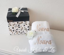 Handdoekensetje & giftbox