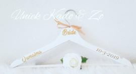 Hanger Bride naam & datum