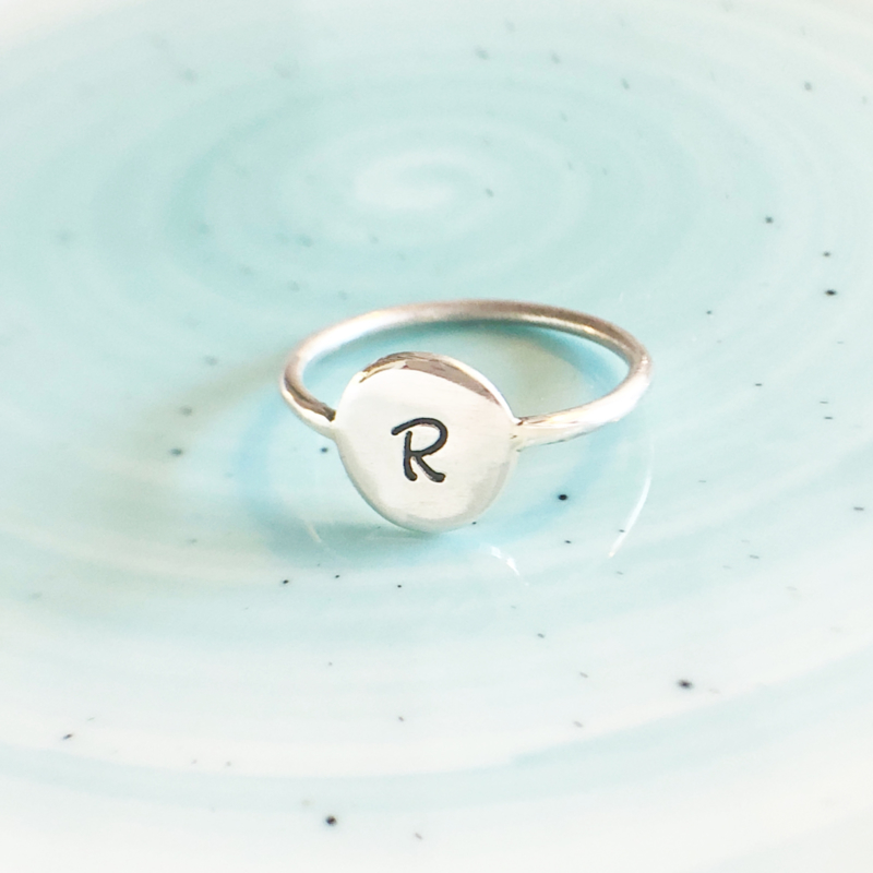 Letter ring groot