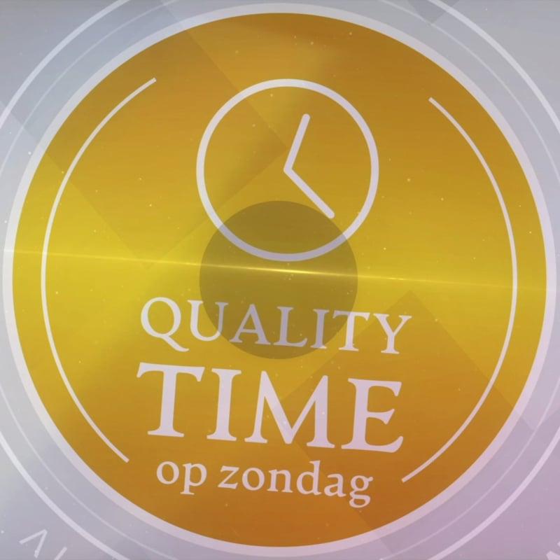 Neem deel aan Quality Time op Zondag (SBS6)