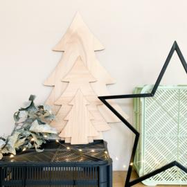 Houten kerstboom | Klein