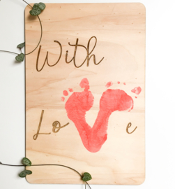 DIY bord | With love