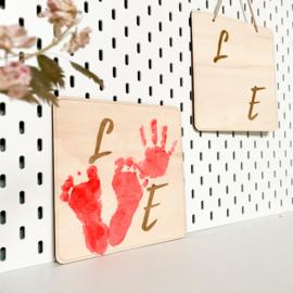DIY bord | Love