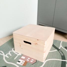 Houten kist | Vierkant