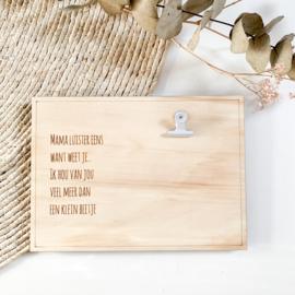 Clipboard | Tekst voor mama