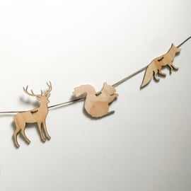 Houten slinger | Bosdieren