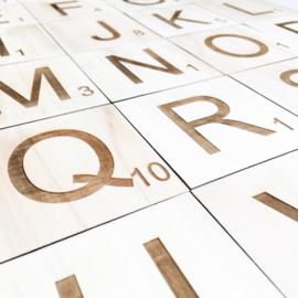 Houten letters | Scrabble