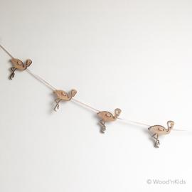 Houten slinger | Flamingo