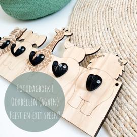 Fotodagboek | Oorbellen (again) feest en exit speen?