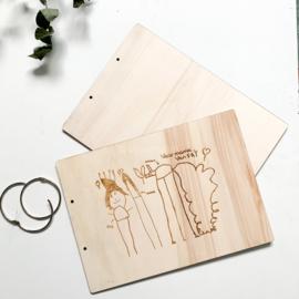 Bewaarmap | Eigen tekening
