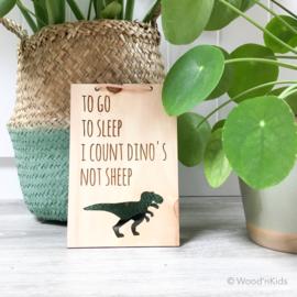 Houten hanger | Dino