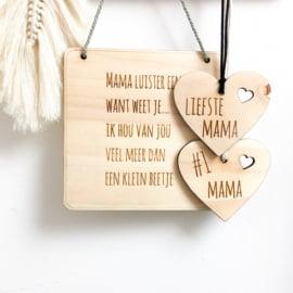 Medaille voor mama