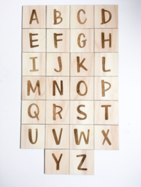 Houten letters | Regular