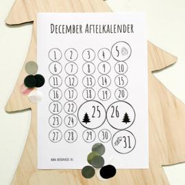 December aftelkalender