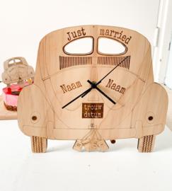 Houten klok | VW Kever