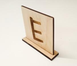 Letterplankje