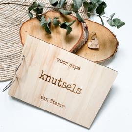 Houten bewaarmap | Knutsels