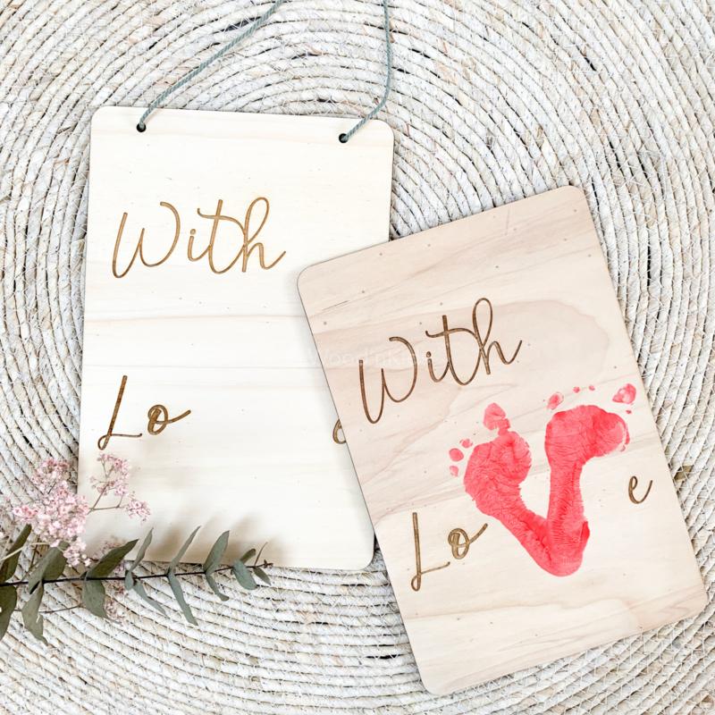DIY bord   With love