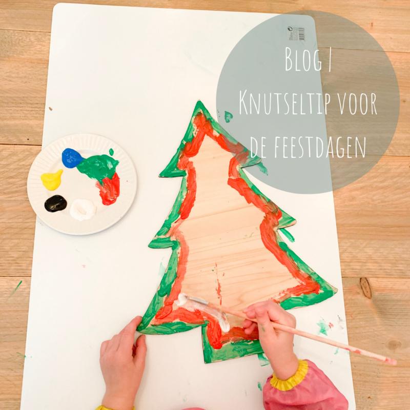 Blog   Knutseltip voor de feestdagen