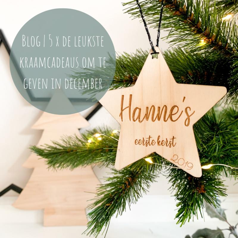Blog | 5 x de leukste kraamcadeaus om te geven in december