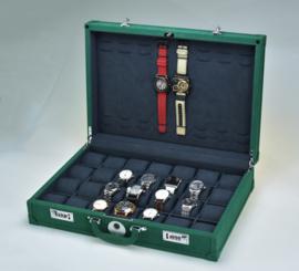 RO horloge koffer met fingerprint lock voor 28 horloges