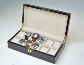W23 horloge bewaarbox voor 12 horloges