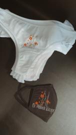 Customized underwear met logo De mobiele Waxer