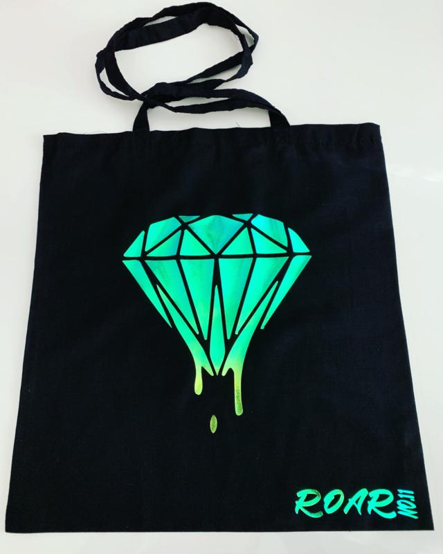 Metallic Diamond Totebag