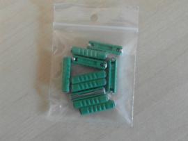 Zekeringen 10 stuks 30amp  groen