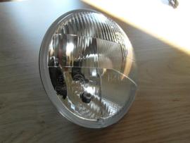 Koplamp blaker, glas met reflector H4 P43T