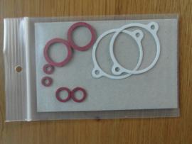 vlotterkamer pakkingen met fiberringetjes k301, k302,
