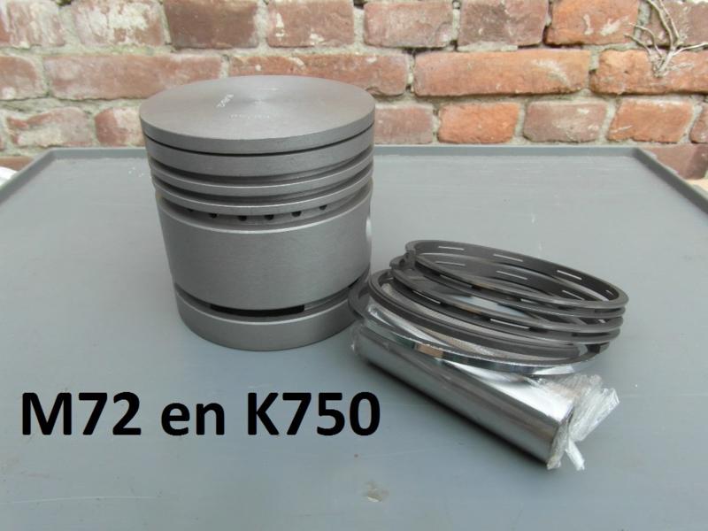 Zuiger M72 K750