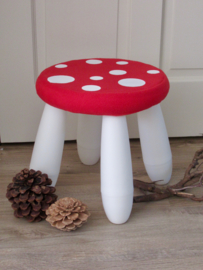 Hoes voor IKEA kruk (paddenstoel)