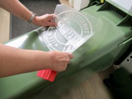 Stickers voor afvalbakken + kliko's