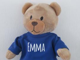 Shirt met naam voor beer Kiki