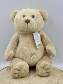 """Zachte beer """"Oude Kiki"""" van 32 cm in beige."""