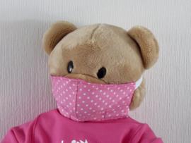 Mondkapje voor beer Kiki