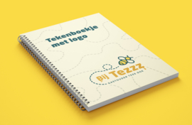 Tekenboekje met eigen logo