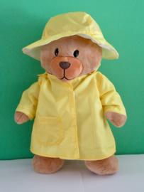 Gele regenjas en hoed | Beer  Kiki