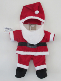 Kerstmanpak voor handpop